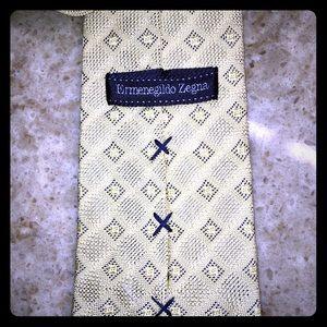 Ermenegildo Zegna Napoli couture silk tie